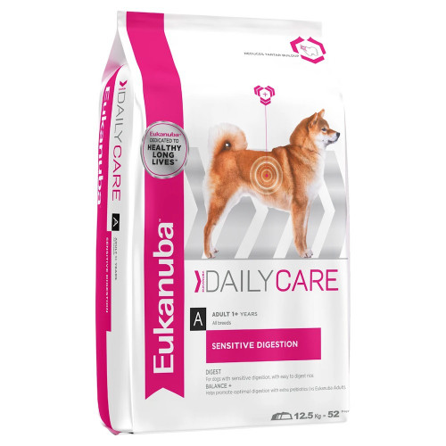 Храна за кучета с проблемен стомах Eukanuba Daily Care Dog Sensitive Digestion 12.5кг