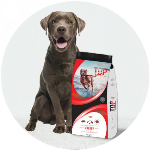 Високо енергийна храна за кучета с много голяма активност Top Dog - Energy 20кг