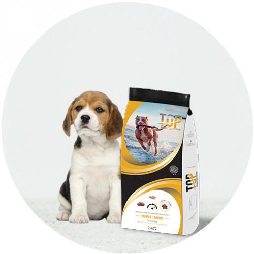 Евтина храна за подрастващи кученца Top Dog - Puppy & Junior 20кг