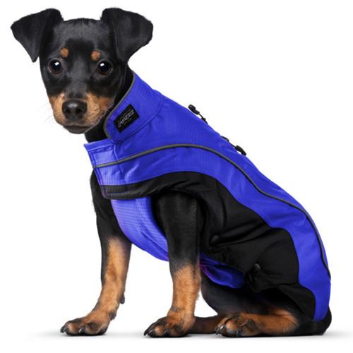 Луксозно кучешко яке Rogz SnowSkin Blue