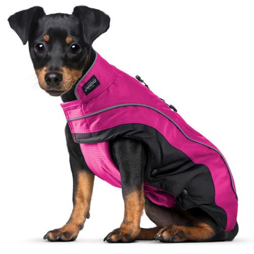 Луксозно кучешко яке за студено и влажно време Rogz SnowSkin Pink