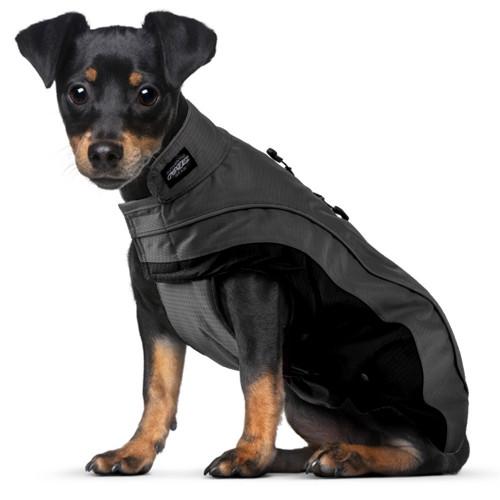 Луксозно кучешко яке за студено и влажно време Rogz SnowSkin Black