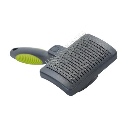 Четка с меки игли за гъста козина - Buster Self-Clean Slicker Soft