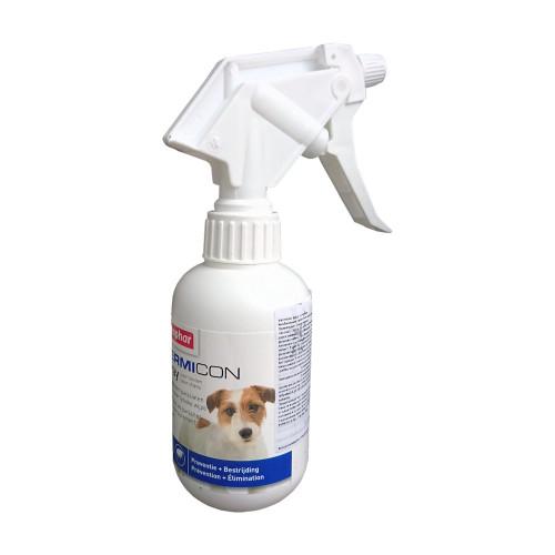 Противопаразитен репелентен спрей за кучета Beaphar Vermicon - 250 мл