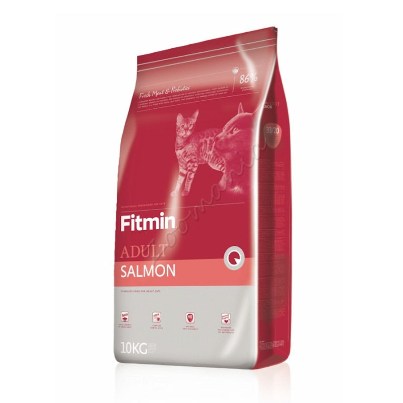 "Суха храна ""Cat Adult Salmon"" – 0.400 кг"