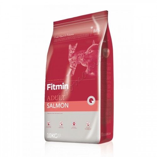 "Суха храна ""Cat Adult Salmon"" – 10 кг"