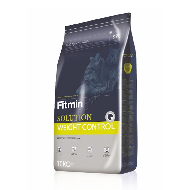 "Суха храна ""Cat Solution Weight Control"" – 10 кг"