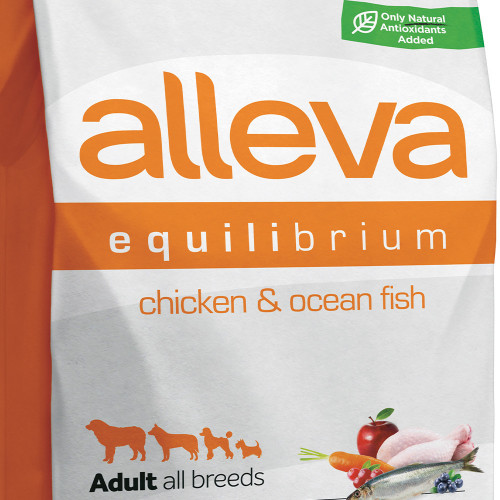 "Храна за кучета без глутен Alleva® Equilibrium Maintenance All Day ""Chicken & Ocean Fish"" Adult Dog - 2.00kg"