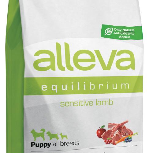"""Храна за кученца от малки и средни породи Alleva® Equilibrium Sensitive """"Lamb"""" Puppy - 12.00kg"""