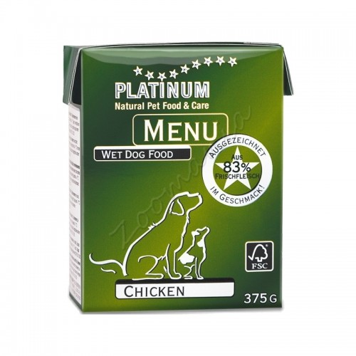 "Консерва ""Platinum Menu Chicken"" - 375 гр"