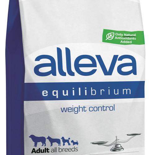 """Диетична храна за кастрирани и слабо подвижни кучета Alleva® Equilibrium """"Weight Control"""" Adult Dog - 12.00kg"""
