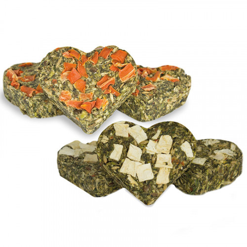 Билкови сърчица Perfecto (120 гр) - лакомство за гризачи
