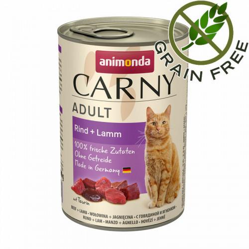 Консерва за котки с говеждо и агнешко - Animonda Carny® Cat Beef & Lamb - 400 гр