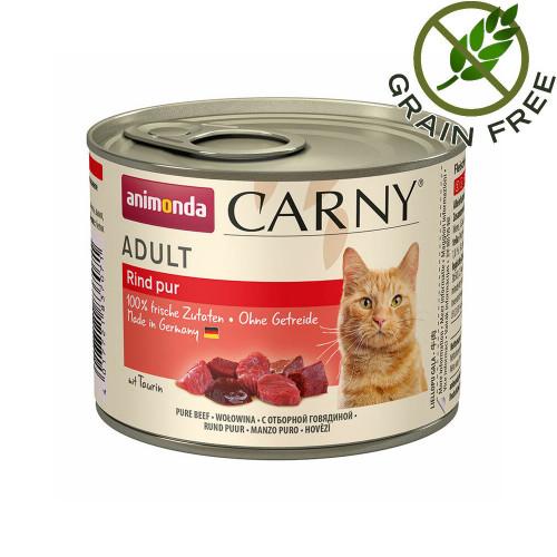 Консерва за котки - монопротеин от говеждо - Animonda Carny® Cat Beef Pure - 200 гр