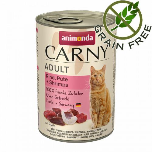 Carny® Cat Beef, Turkey & Shrimps - 400 гр