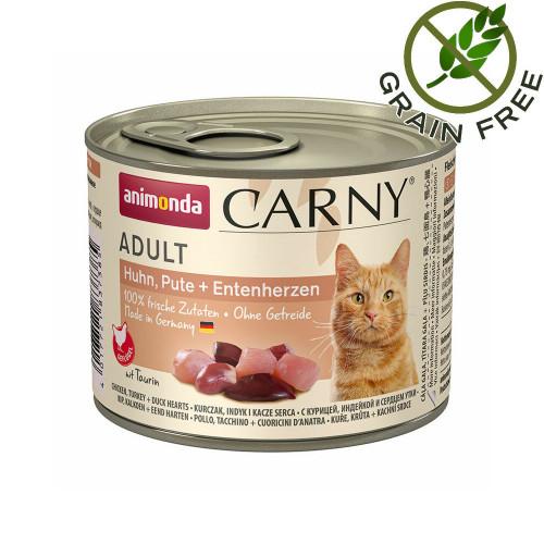 Carny® Cat Chicken & Turkey and Duck Hearts - 200 гр