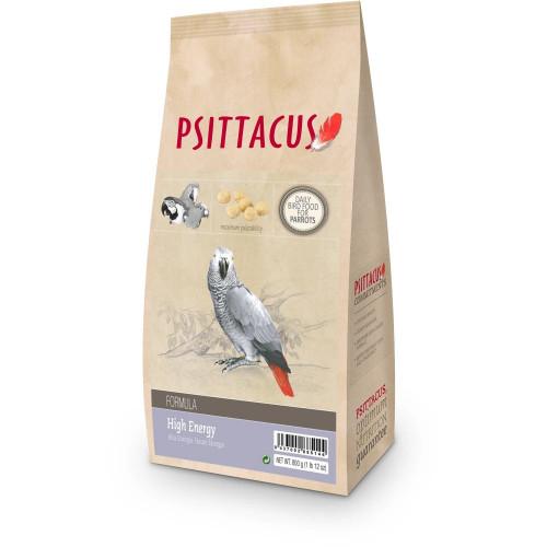 Супер качествена гранула за папагали Жако - Psittacus Parrot High Energy 800g