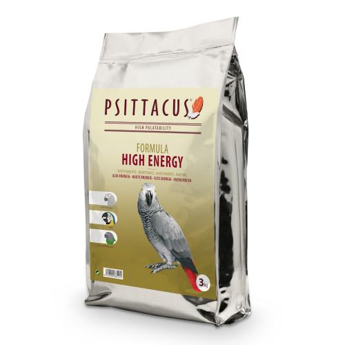 Супер качествена гранула за папагали Жако - Psittacus Parrot High Energy 3kg