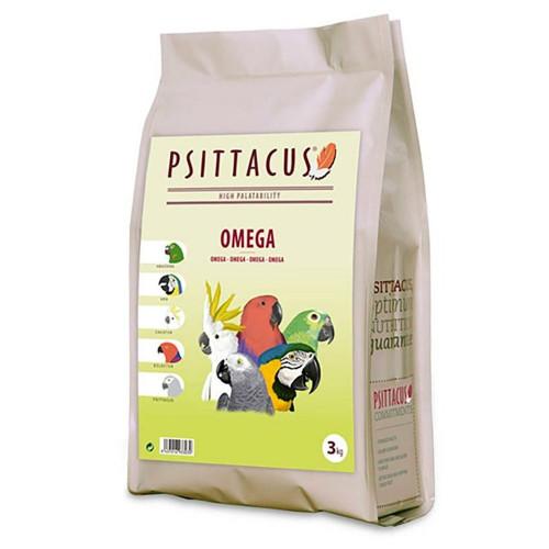 Супер качествена гранула за папагали Жако - Psittacus Parrot Omega Formula 3kg
