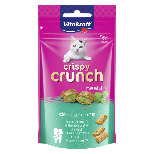 Crispy Crunch ментови хапки - 60гр