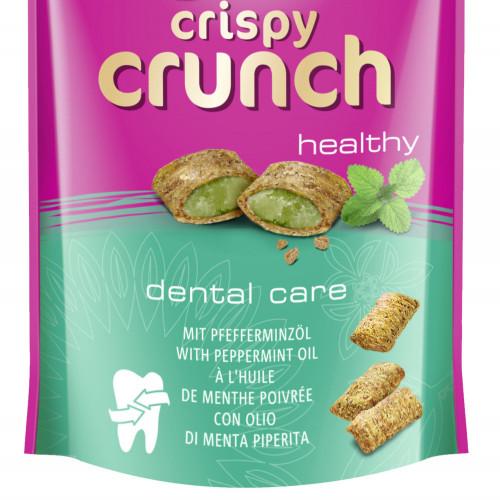 Котешко лакомство за дентална грижа Crispy Crunch ментови хапки - 60гр