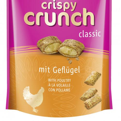 Вкусно котешко лакомство Crispy Crunch с пилешко - 60гр