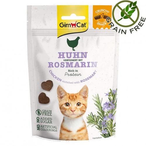 Вкусно лакомство за котки Crunchy Snack Пиле & Розмарин - 50гр