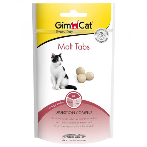 Малцови таблетки за котки Gimcat Every Day Malt Tabs - 40гр
