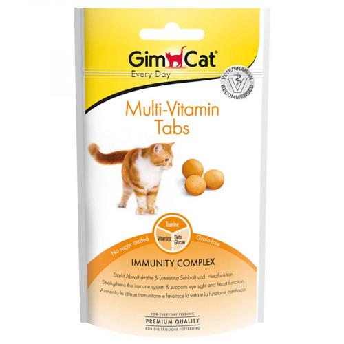 Мултивитамини за котки Gimcat Every Day Multi-Vitamin Tabs - 40гр