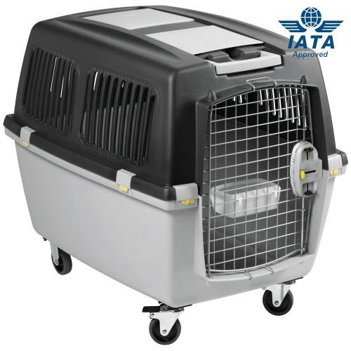 IATA сертифицирана транспортна клетка за превоз на куче със самолет Gulliver Mega
