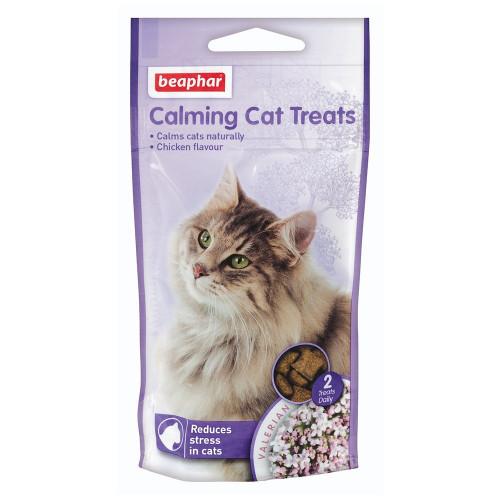Успокояващо лакомство за котки Beaphar Calming Cat Treats - 35 гр