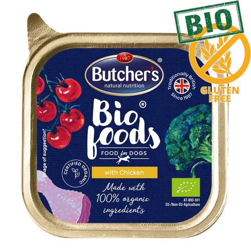 Био пастет за кучета с пилешко Butcher's Dog Bio Chicken - 150 гр