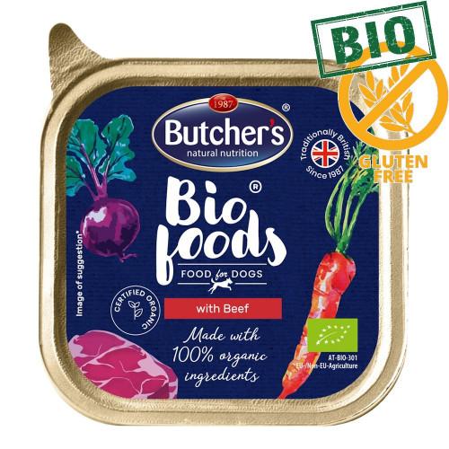 Био пастет за кучета с говеждо Butcher's Dog Bio Beef - 150 гр