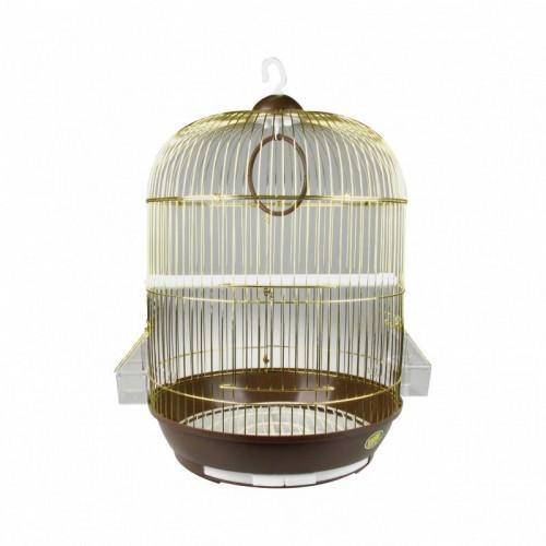 Овална клетка за малки птици Rondo Gold