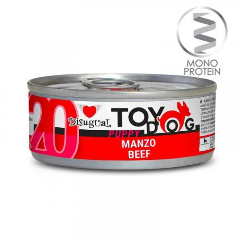 Моно протеинова храна за Йорки, Чихуахуа, Бивър, Ши цу, Папийон и други малки породи - пастет Toy Puppy с говеждо 85 гр