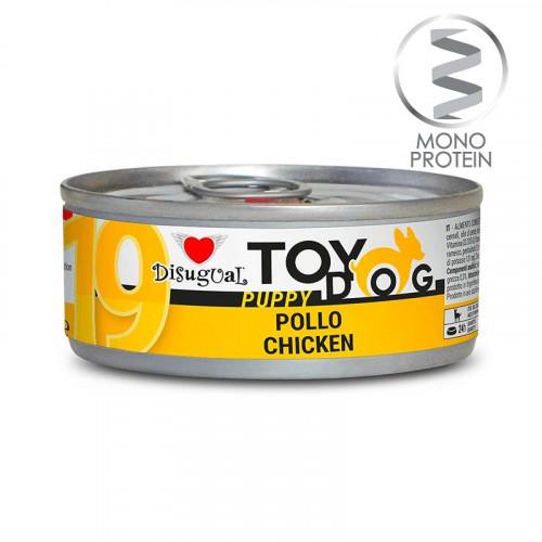 Моно протеинова храна за Йорки, Чихуахуа, Бивър, Ши цу, Папийон и други малки породи - пастет Toy Puppy с пилешко 85 гр