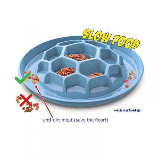 Купичка за бавно хранене на куче Honey Slow Food Bowl Ø32 cm