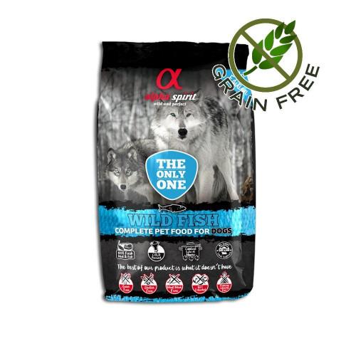 Ултра премиум храна за кучета с морска риба от див улов - Alpha Spirit The Only One Wild Fish - 3 кг