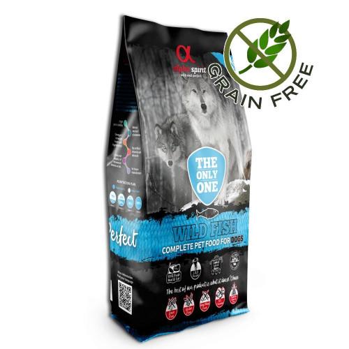 Ултра премиум храна за кучета с морска риба от див улов - Alpha Spirit The Only One Wild Fish 12 кг