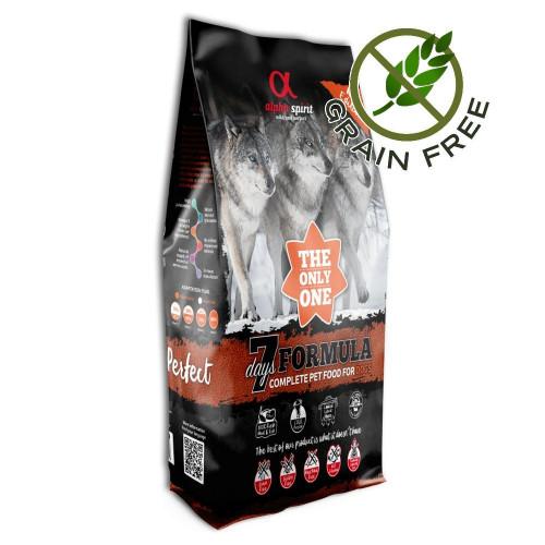 Ултра премиум храна за кучета с пресни морска риба и месо - Alpha Spirit The Only One 7 Days - 12 кг