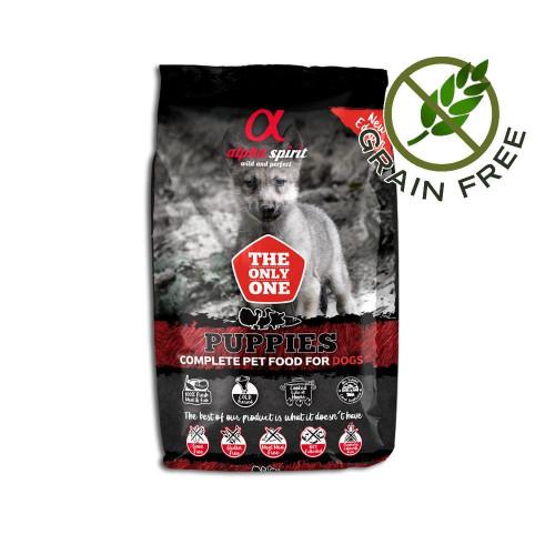 Ултра премиум храна за кученца с прясна риба и месо - Alpha Spirit The Only One Puppy - 3 кг