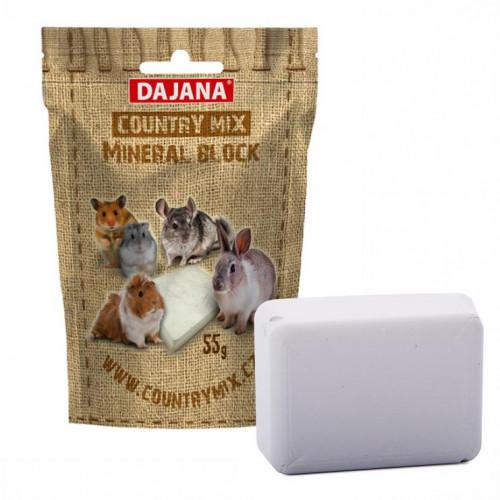 Минерално блокче за гризачи Dajana Country Mix Mineral Block - 55 гр