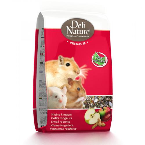 Храна за хамстери, джербили и други сладки малки мишки Deli Nature Premium Small Rodents - 15 кг