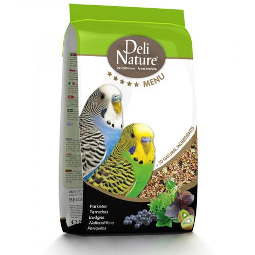Качествена храна за вълнисти папагалчета Deli Nature 5 Star Menu Budgies - 800 гр