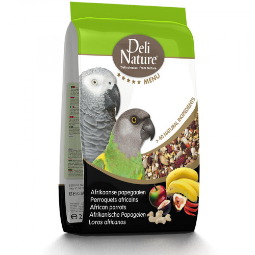 Качествена храна за Жако Deli Nature 5 Star Menu African Parrot - 800 гр