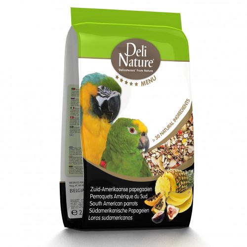 Качествена храна за южноамерикански папагали Deli Nature 5 Star Menu South American Parrot - 800 гр