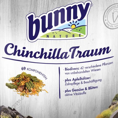 Качествена храна за чинчила - Bunny Chinchilla Basic 3.2 кг