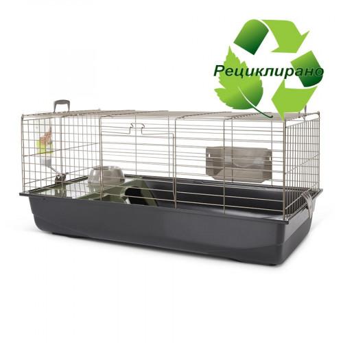 Клетка за декоративни зайчета и морски свинчета Savic Nero 3 De Luxe Happy Planet - 100 х 50 х 45 см