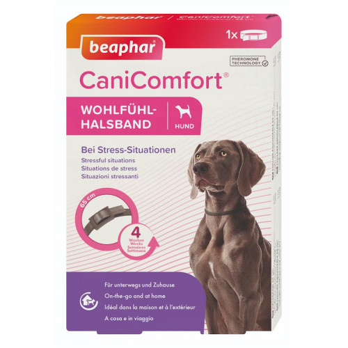 CaniComfort® Calming Collar Adult - успокояващ нашийник за кучета с феромони
