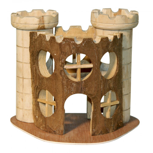 Замък за клетка на малки гризачи Kerbl Nature - 17 х 15 х 12 см